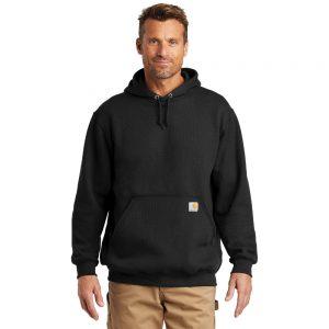 Carhartt Midweight Hooded Sweatshirt CTK121 Black