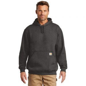 Carhartt Midweight Hooded Sweatshirt CTK121 Carbon Heather
