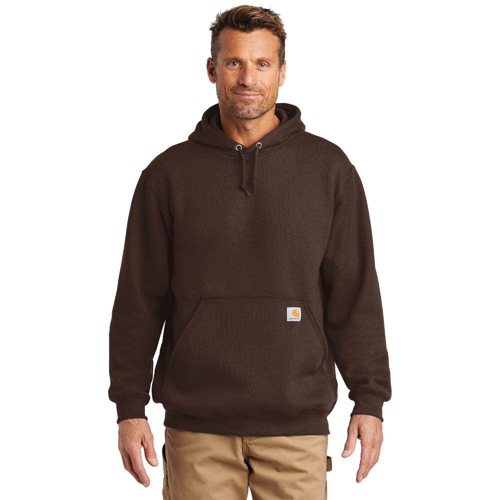 Carhartt Midweight Hooded Sweatshirt CTK121 Dark Brown