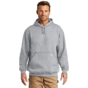 Carhartt Midweight Hooded Sweatshirt CTK121 Heather Grey