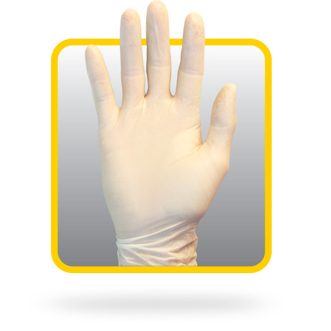 The Safety ZOne GRPR Latex Powder-Free Glove