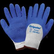 Global Glove 330 Blue Rubber Coated