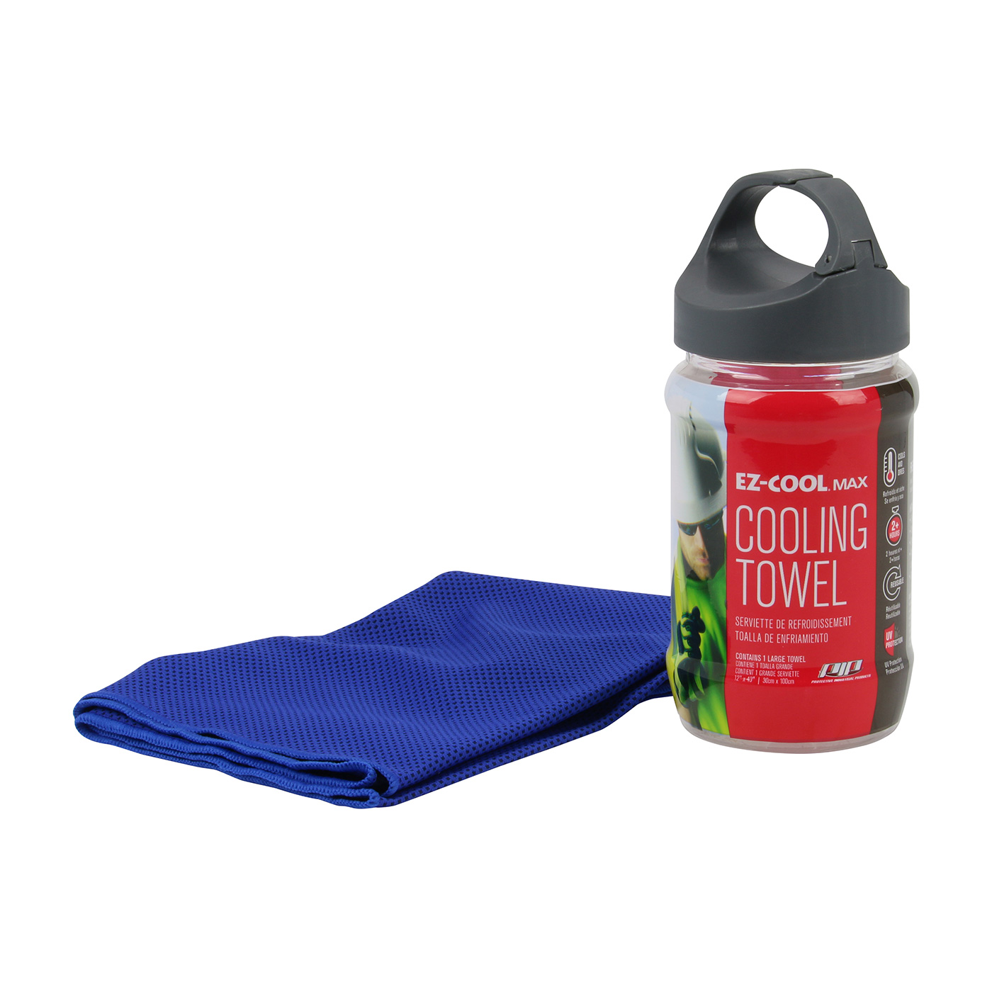 PIP EZ-Cool Max Cooling Towel Blue