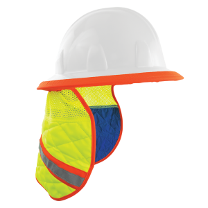 Global High Vis Cooling Neck Shade for Hard Hats
