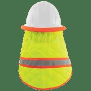 Global High Vis Cooling Neck Shade for Hard Hats Back