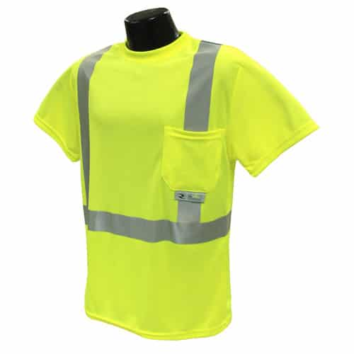 Radians ST11 Class 2 Reflective T-shirt Yellow Front