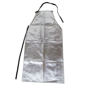 Chicago Protective Apparel 548-ACK aluminized carbon para-aramid blend apron Front