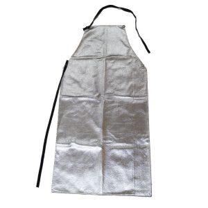 Chicago Protective Apparel 548-ACK aluminized carbon para-aramid blend apron Front