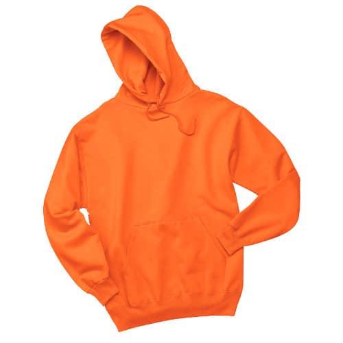 Sanmar Jerzees 996M Pull over Hoodie Safety Orange