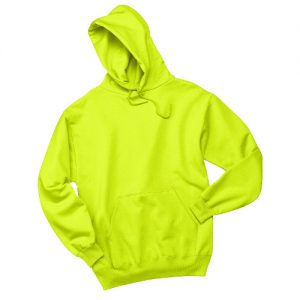 Sanmar Jerzees 996M Pull over HoodieSafety Green