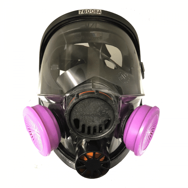 Honeywell North Full Face Mask with Cartridges 76008A