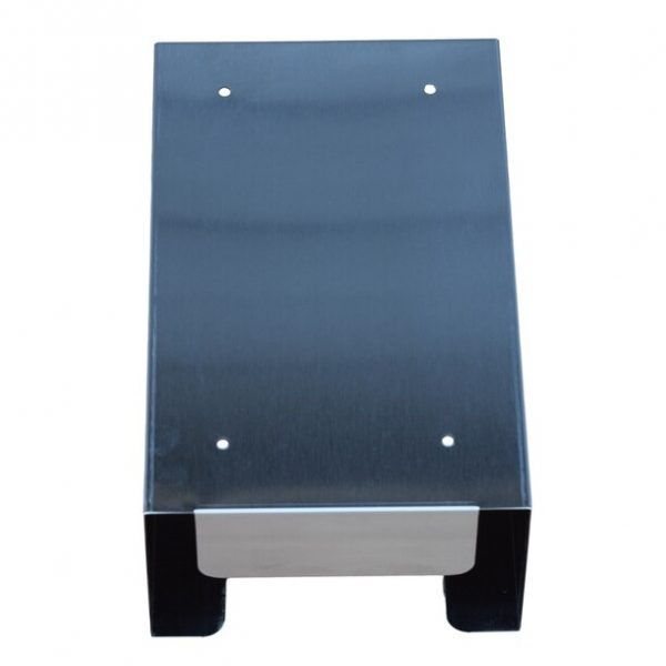 Omnimed Stainless Steel Single Glove Box Holder Back