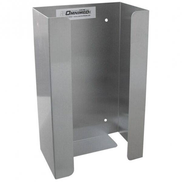 Omnimed Stainless Steel Single Glove Box Holder
