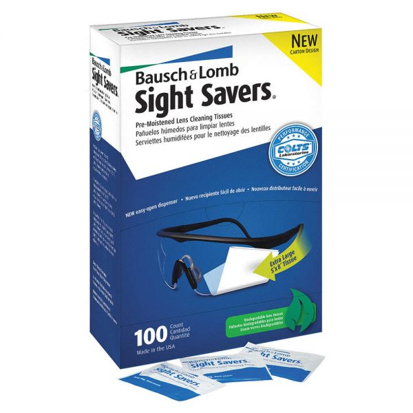 Sight Savers Eyeglass Cleaning Wipes