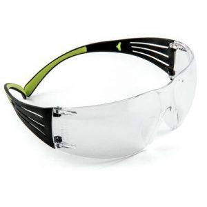 3M SF401AF Clear Anti-Fog Safety Glasses