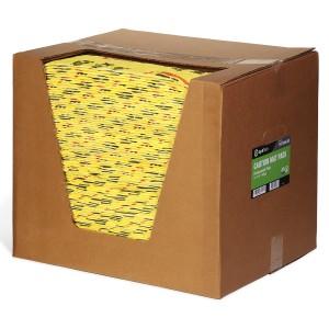 SpillTech Caution Mat Pads in package